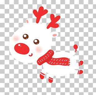 Santa Claus Christmas Reindeer PNG