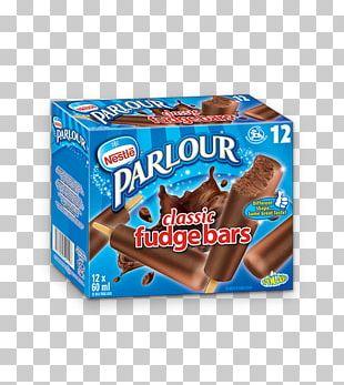 Fudge Chocolate Sandwich Ice Cream Parlour Parfait PNG