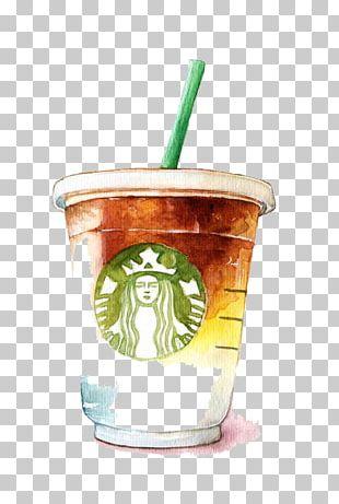 Coffee Latte Tea Starbucks PNG
