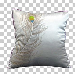 Feather Peafowl Pillow Euclidean PNG