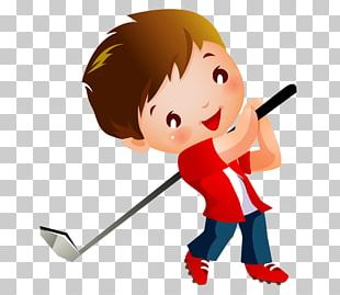Golf Course Child PNG