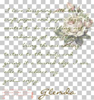 Rose Family Floral Design Cut Flowers Font PNG