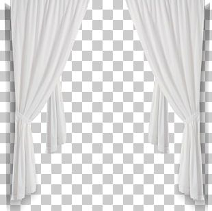 Curtain Black And White Structure PNG
