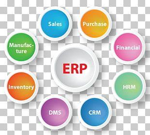 Enterprise Resource Planning Business Computer Software Organization Customer Relationship Management PNG