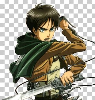 Eren Yeager Attack On Titan Armin Arlert Mikasa Ackerman A.O.T.: Wings Of Freedom PNG