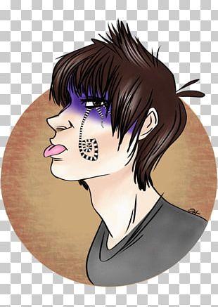 Nose Hair Coloring Eyelash Black Hair PNG