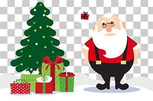 Rudolph Santa Claus Gift Christmas PNG