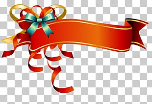Ribbon Web Banner PNG