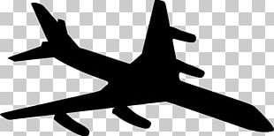 Airplane Aircraft Silhouette Air Transportation PNG