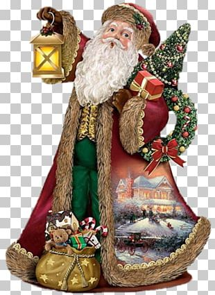 Santa Claus Christmas Ornament Ded Moroz Deck The Halls PNG