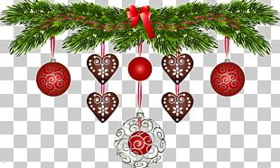 Christmas Decoration Christmas Ornament Christmas Tree Santa Claus PNG
