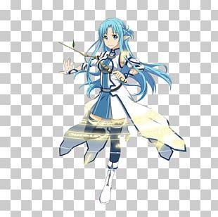 Asuna Kirito SWORD ART ONLINE Memory Defrag Leafa PNG