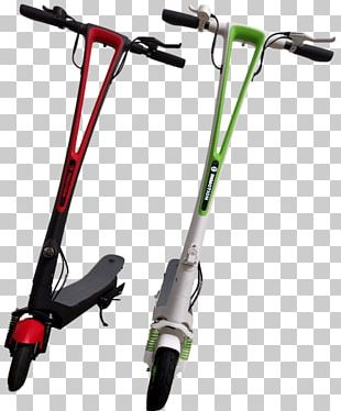 Electric Kick Scooter Bicycle Handlebars PNG
