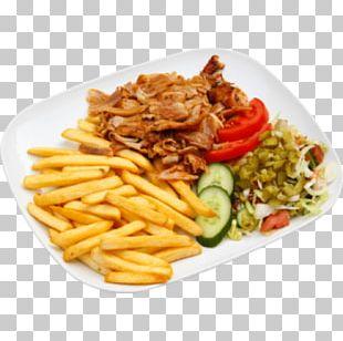 French Fries European Cuisine Doner Kebab Kapsalon PNG