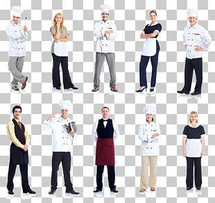 Chef Waiter Cook Restaurant Uniform PNG
