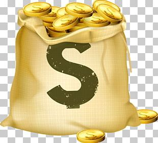 Money Bag Gold Coin PNG