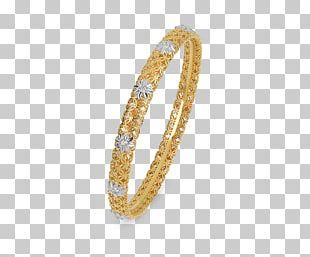 Gold Jewellery Bangle Ring Bracelet PNG