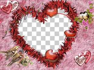 Love Frames Heart Romance Valentine's Day PNG