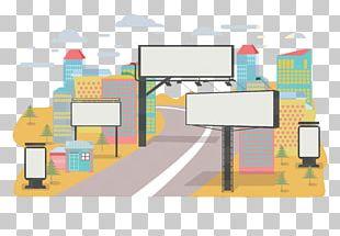 Advertising Road Billboard PNG
