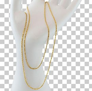 Necklace Rope Chain Gold-filled Jewelry PNG