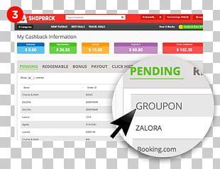 ShopBack Cashback Reward Program Online Shopping Discounts And Allowances Money PNG