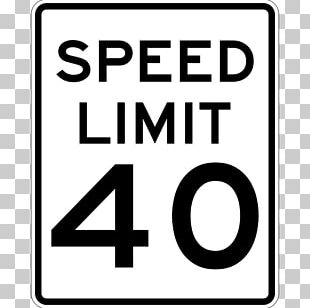 Speed Limit Car Traffic Sign Manual On Uniform Traffic Control Devices PNG