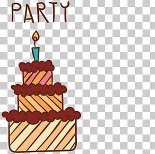 Birthday Cake Happy Birthday To You Wish Greeting Card PNG