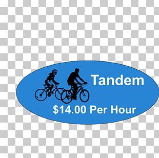 Ocean City Tandem Bicycle Bike Rental Dolle's Candyland PNG