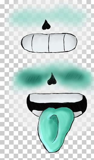 Human Mouth Tongue Undertale Font PNG