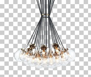 Chandelier Pendant Light Incandescent Light Bulb Light Fixture PNG