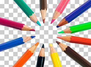 Colored Pencil Drawing Crayon PNG