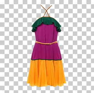 Shoulder Skirt Dance Costume Dress PNG