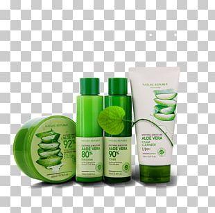 Aloe Vera Lotion Cream Gel Skin Care PNG