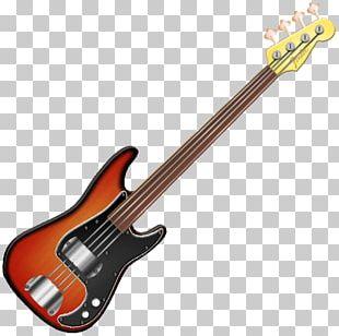 Fender Precision Bass Fender Mustang Bass Sunburst Bass Guitar Squier PNG
