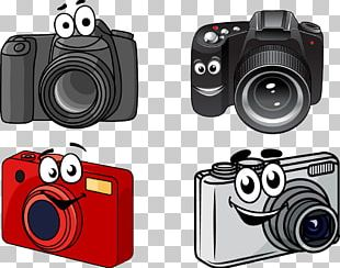 Single-lens Reflex Camera Cartoon PNG