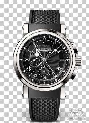 Breguet Automatic Watch Chronograph Marine Chronometer PNG