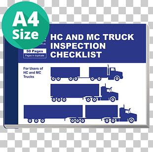Dump Truck Vehicle Inspection Checklist PNG