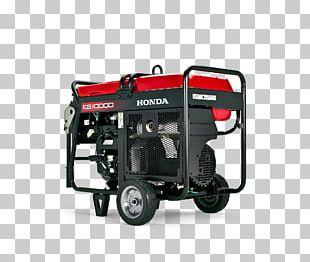 Electric Generator Honda Car Motor Vehicle Engine-generator PNG