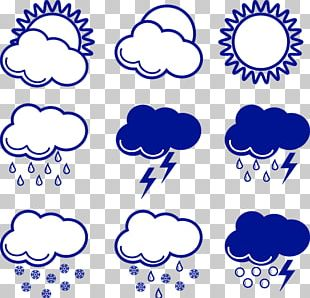Weather Forecasting Rain Icon PNG