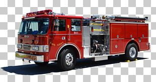Fire Engine Fire Department Car Motor Vehicle Firefighter PNG