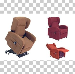 Wing Chair Massage Chair Comfort Seat Recliner PNG