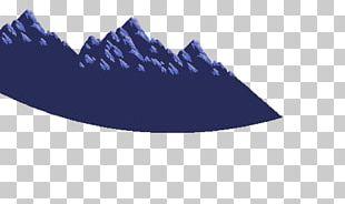 Cobalt Blue Shoe Font PNG