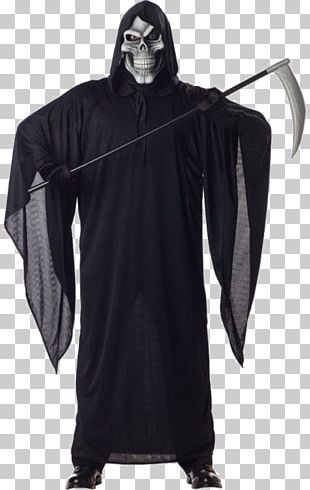Death Robe Costume Party Halloween Costume PNG