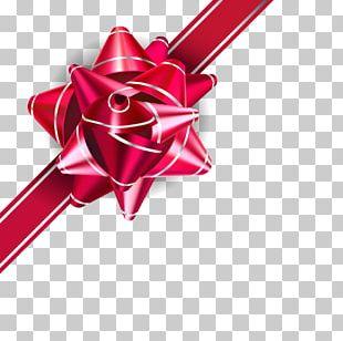 Wedding Invitation Ribbon Gift PNG