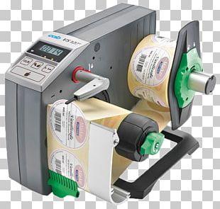Label Dispenser CAB Produkttechnik GmbH Packaging And Labeling PNG