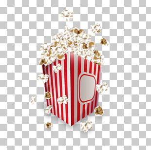 Popcorn Cinema Film Ticket PNG