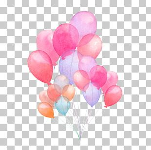 Balloon Watercolor Painting Stock Illustration Illustration PNG