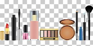 Cosmetics Makeup Brush Eye Shadow Lipstick PNG