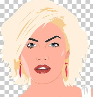 Blond Cosmetologist Beauty Parlour Woman PNG