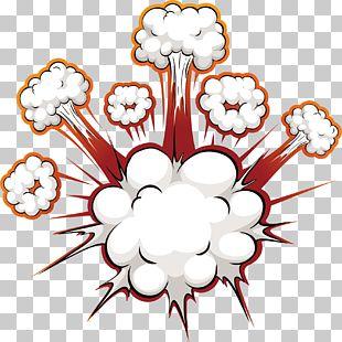 Comics Explosion Speech Balloon PNG